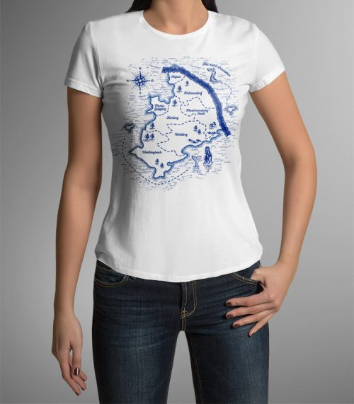 Damen T-Shirt Klosterneuburg