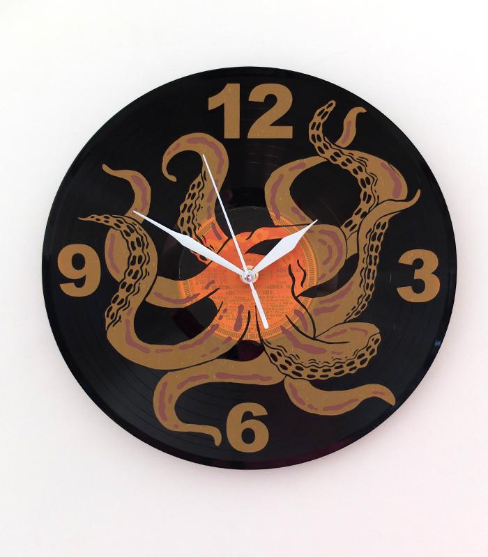 Oktopus Uhr