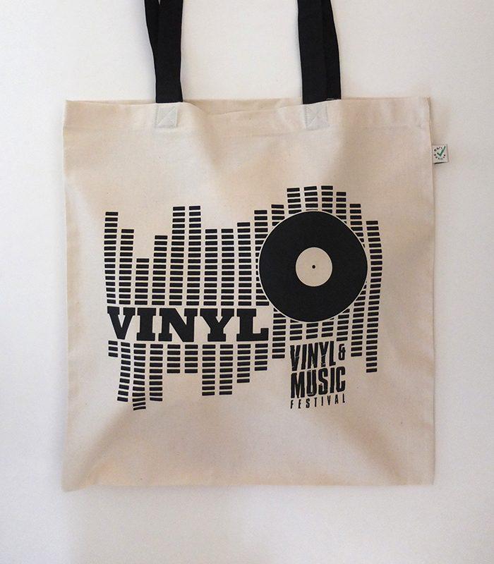 Baumwolltasche Vinyl